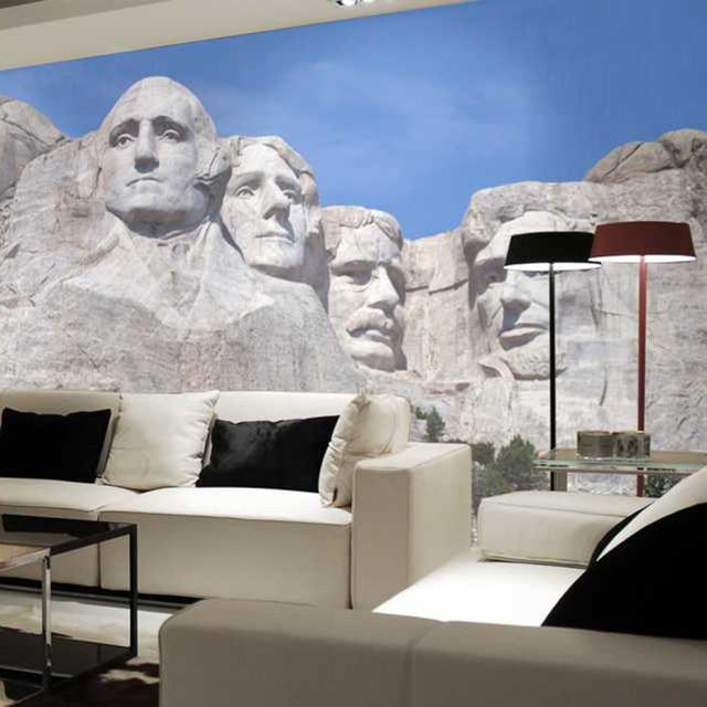 Kopf Auf Den Rock Wand Wohnzimmer Hintergrund 3D Wallpaper Wandbild  Photowall 3d Papel De Pared PW1435730431