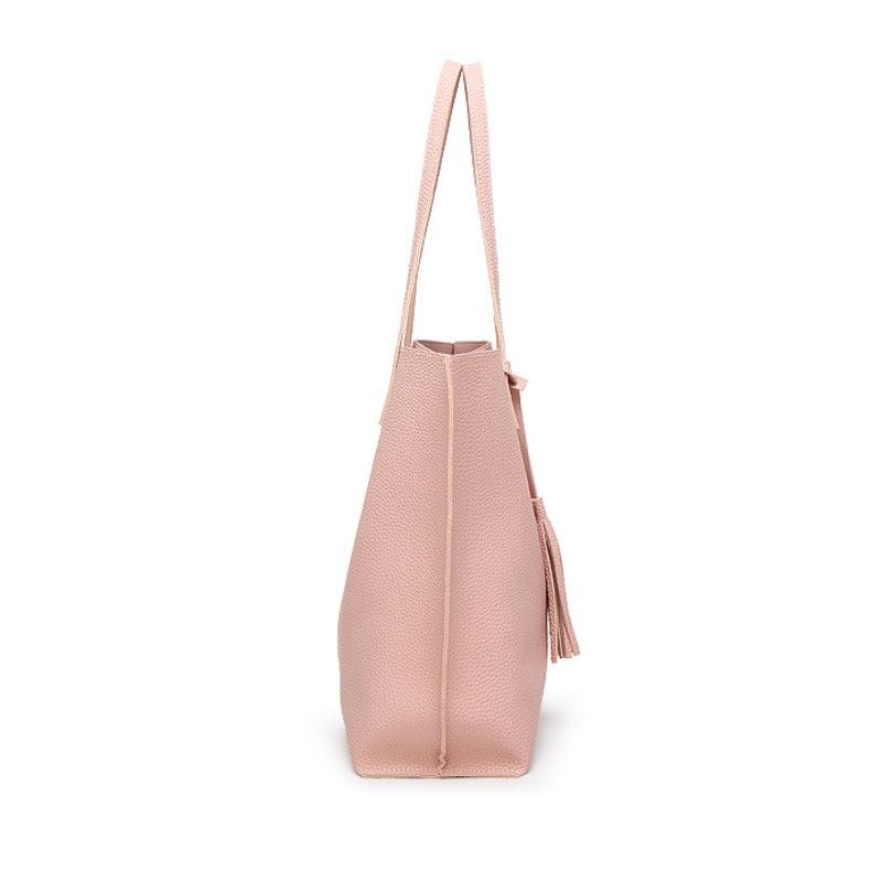 para mulheres de couro macio Women Bag : Bolsos Mujer de Marca Famosa 2016