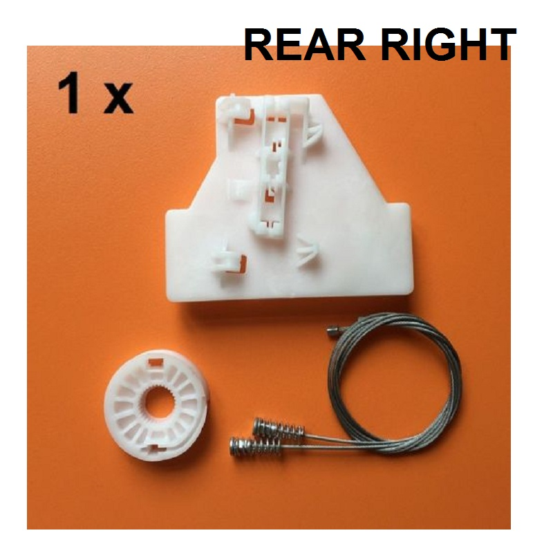 1 SET FOR AUDI A4 B6/B7 2000-2008 REAR RIGHT SIDE WINDOW REGULATOR REPAIR KIT NEW