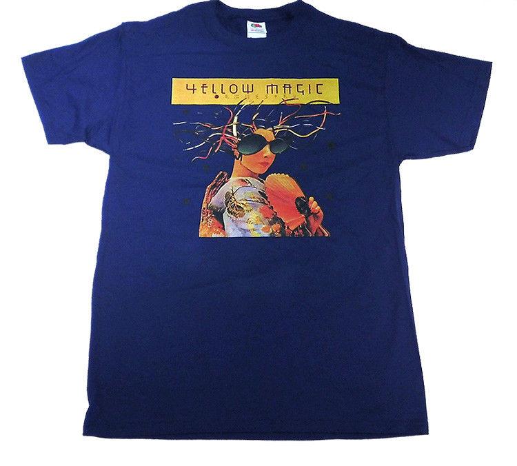 Yellow Magic Orchestra T Shirt YMO Electronic Music W303 Computer Game Kraftwerk