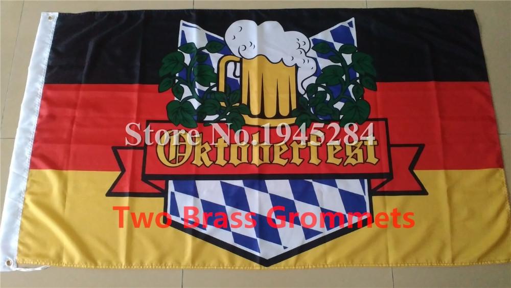 OKTOBERFEST German Bavaria Beer Folk Festival Party Flag_