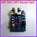 5pcs/lot HIFI DAC HIFI Sound Card Module For Raspberry Pi B Version