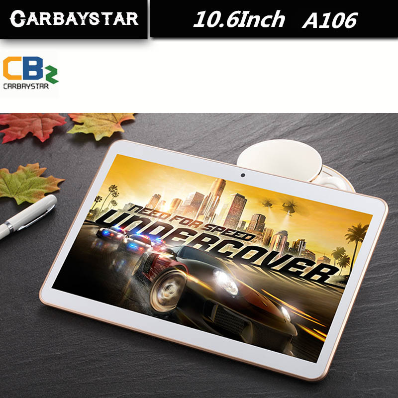 CARBAYSTAR 10 6 inch A106 MT8392 Octa Core Rom 64GB 1 5GHz Android 5 1 tablet
