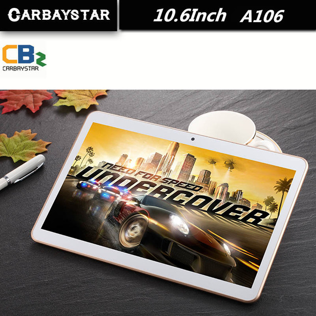 Carbaystar 10.6 polegada a106 mt8392 octa núcleo rom 64 gb 1.5 ghz android 5.1 tablet android pc tablet inteligente, kid presente aprendizagem computador