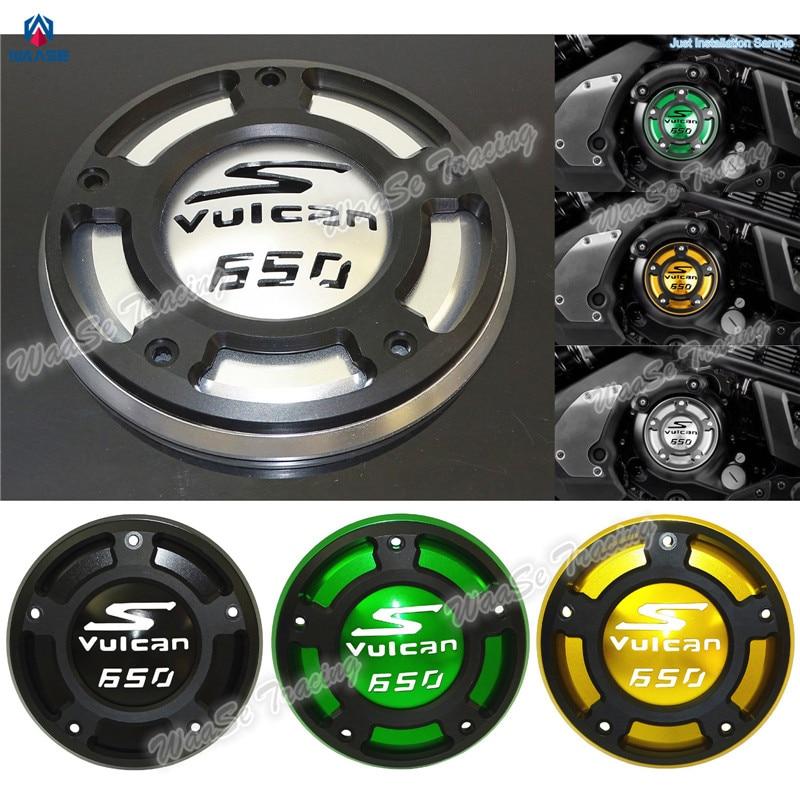 waase Motorcycle CNC Aluminium Right Side Engine Protective Protect Cover For Kawasaki Vulcan S VN650 2015 2016 2017 waase motorcycle cnc aluminium right