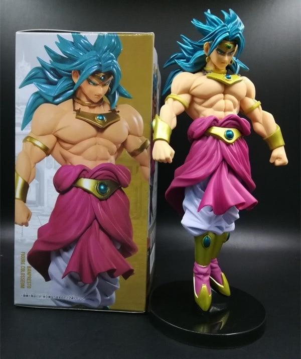 20cm Dragon Ball Z Broli Anime Action Figure PVC New Collection figures toys Collection for Christmas gift 4pcs new for ball uff bes m18mg noc80b s04g