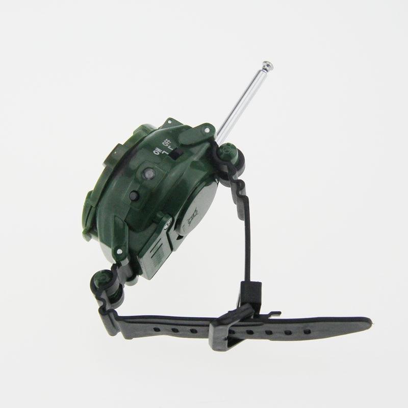 2 шт. многофункциональная двухсторонняя радиоигрушка с Лупа с компасом игрушки детские наручные часы отражатель