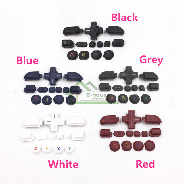 For New 3DS XL Full Buttons Kit Replacement for New 3DS LL Housing Shell Full Buttons Kit