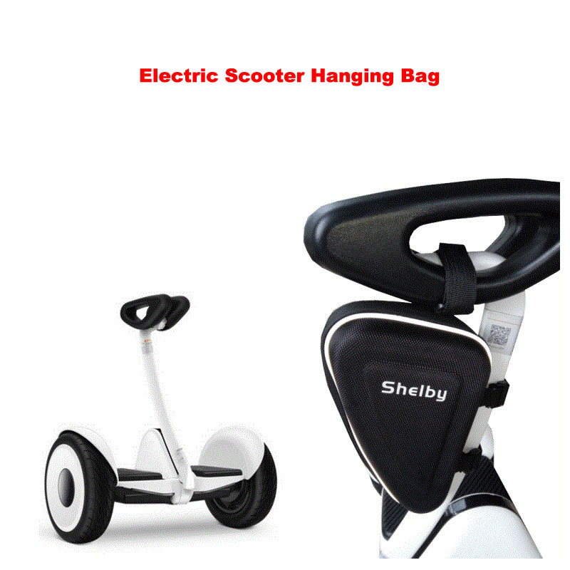 Xiaomi Mini Scooter Charger Bag Foot Control Hanging Bag Phone Key Portable Triangle Travelling Bag for Xiaomi Mini Pro Scooter