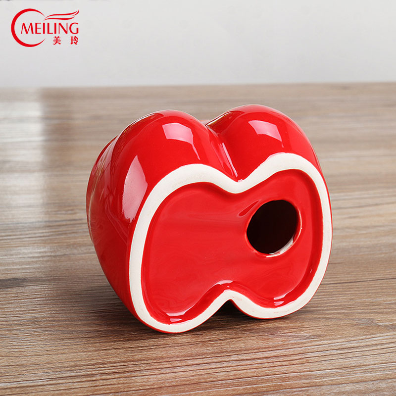 Birthday Gift For Boyfriend Funny Ashtray Outdoor Ceramic Flesh Breast Red Boxer Short Shaped Ash Tray Creative Home Table Decor In Ashtrays From
