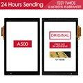 ОРИГИНАЛЬНЫЙ 10.1 дюймов ИСПЫТАНО Сенсорный Экран Для Acer iConia Tab A500 A501 Сенсорный Экран Replacment Черный Клей
