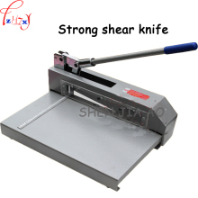 XD-322 Small strong shear cutter thin iron copper plate circuit board cutting machine  1 pc