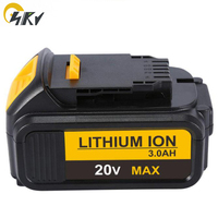 NEW 20V DCB200 DCB180 Lithium ion power tools battery for Dewalt DCB201 DCB204 DCF885, DCF895