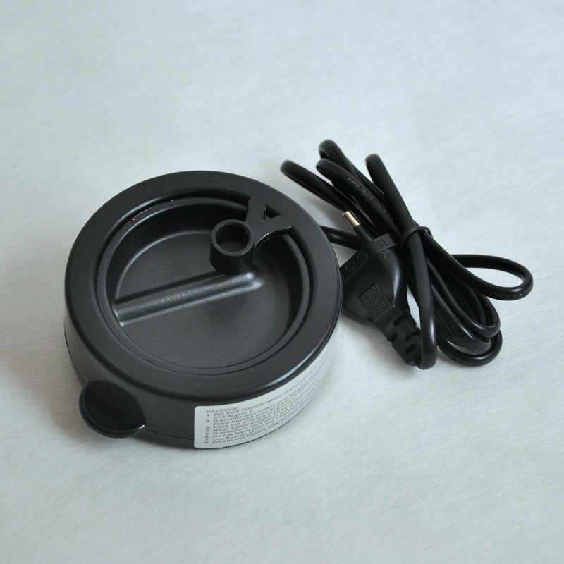 Черный мини-клей горшок жидкий кератин расплава горячий горшок постоянная температура для наращивания волос Профессиональный салонный удлинитель инструмент