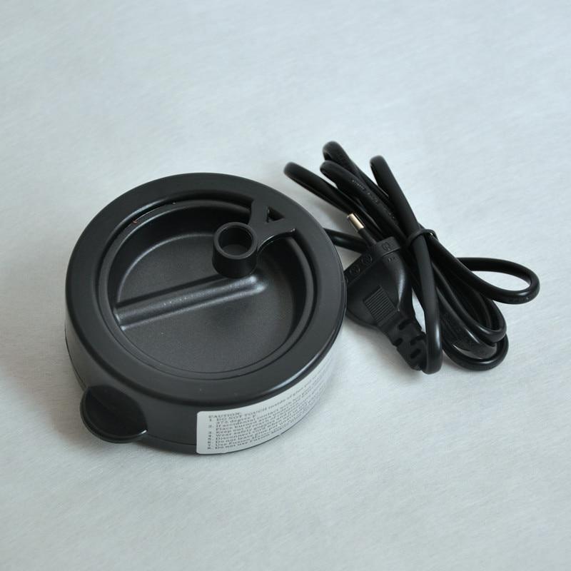 Black Mini Glue Pot Keratin Fusion Melt Hot Pot Constant Temperature for Hair Extension Professional Salon Extension Tool