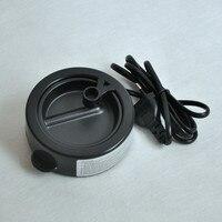 Black Mini Glue Pot Keratin Fusion Melt Hot Pot Constant Temperature For Hair Extension Professional Salon