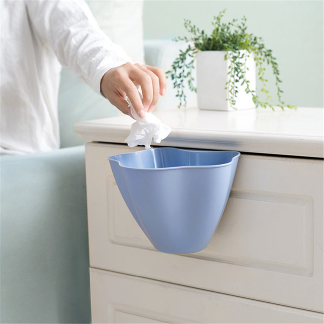 Wastebasket Kitchen Countertops Storage Box Household Cabinet Door Hanging  Trash Cans Kitchen Bucket Garbage Waste Bin