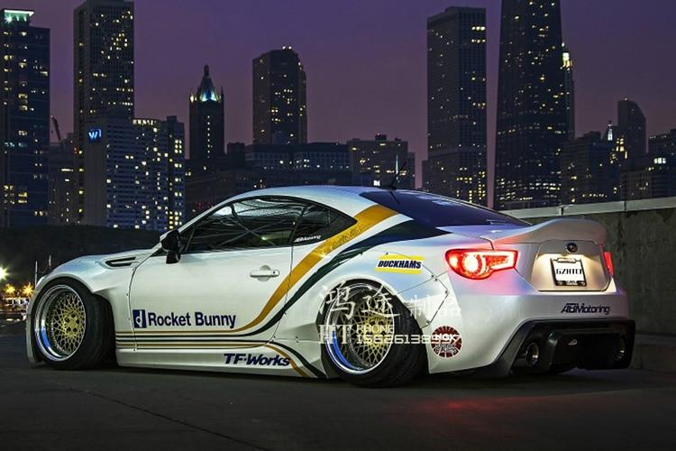 Подходит для Toyota GT86/BRZ углеродного волокна ногу mortor Спорт углеродного волокна спойлер