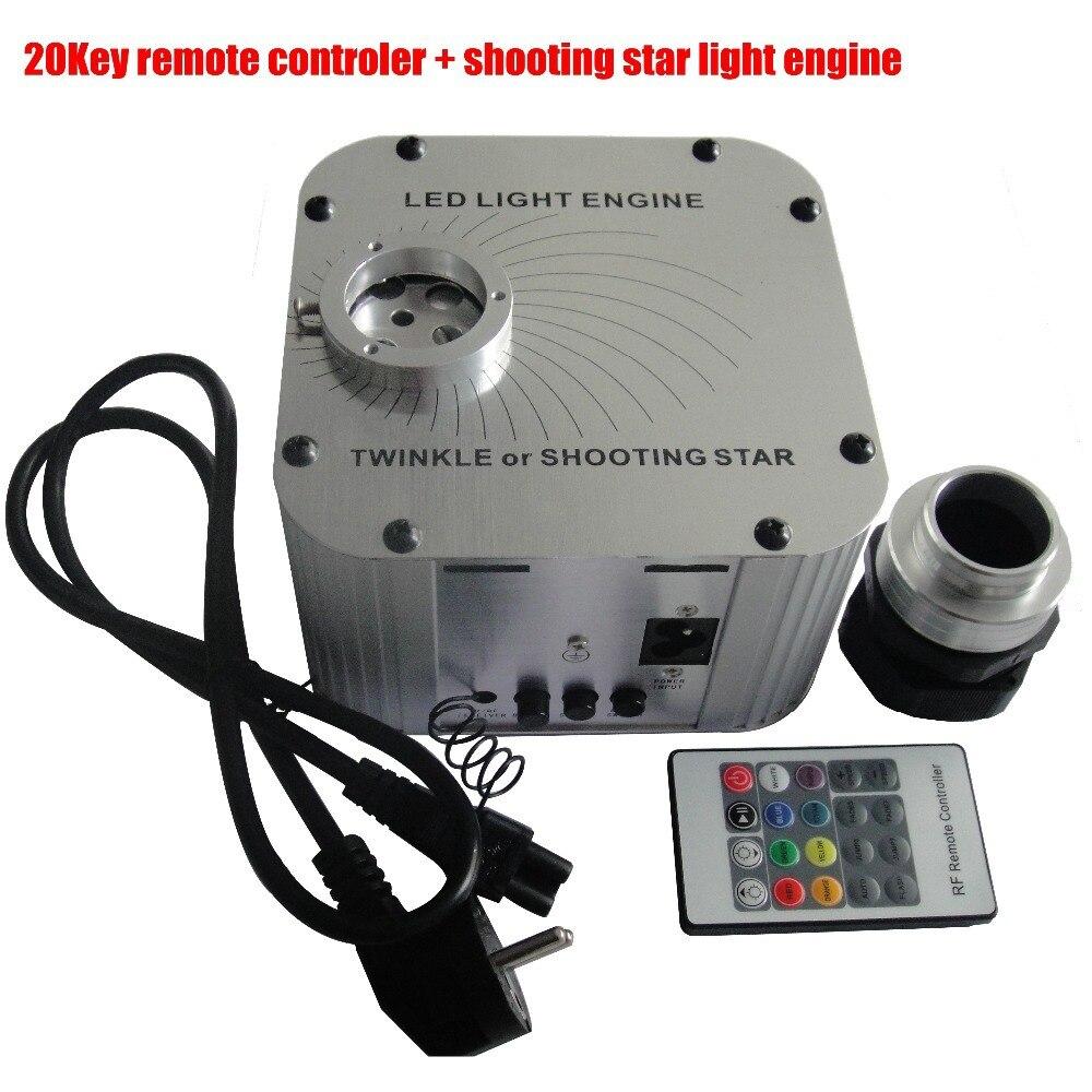 27 Вт мерцают звезды, свет двигателя оптического волокна света для лобби, детская комната, AC или DC12V вход волокна драйвер ...