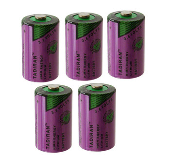 5pcs Original New TADIRAN TL-5902 1/2AA ER14250 SL350 3.6V 1/2 AA PLC Lithium Battery Free Ship