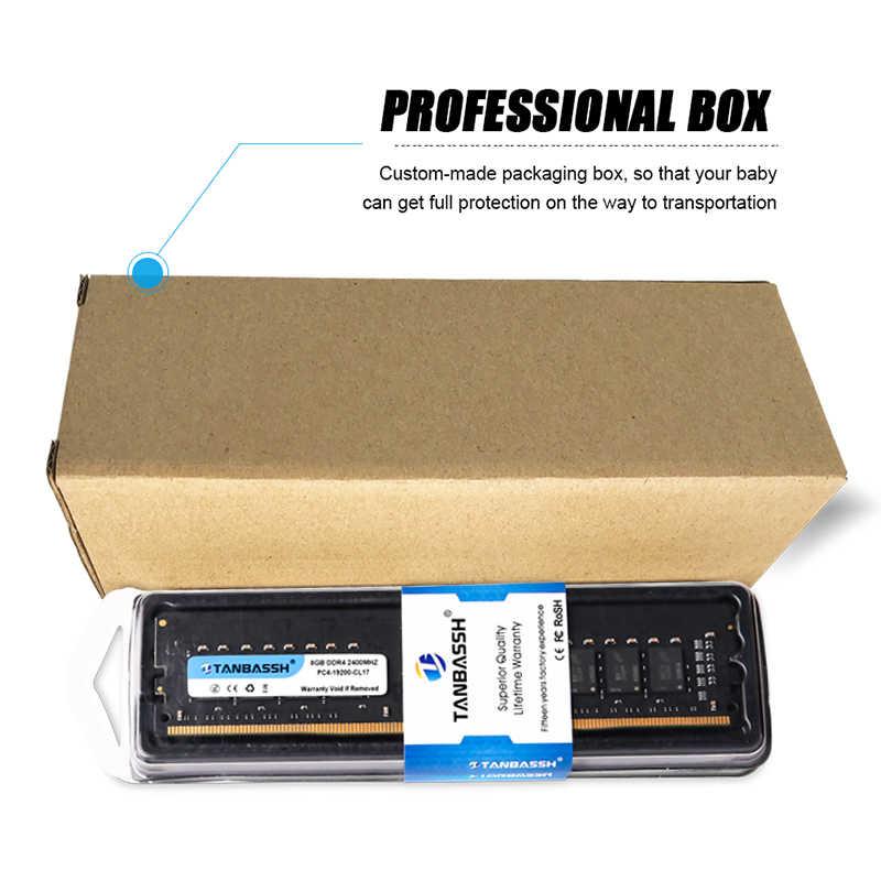 TANBASSH DDR4 RAM 4 GB/8 GB/16 GB 2400 MHZ/2666 MHZ DIMM 288pin Máy Tính Để Bàn hỗ Trợ bộ nhớ Bo mạch chủ DDR4 nhớ