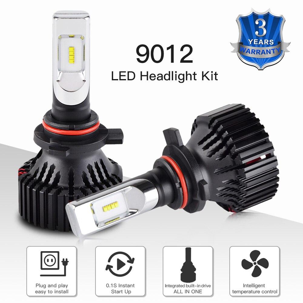 9012 LED Headlight Bulb For Dodge Dart 2013 2014 2015 Hi//Low Beam 6500K