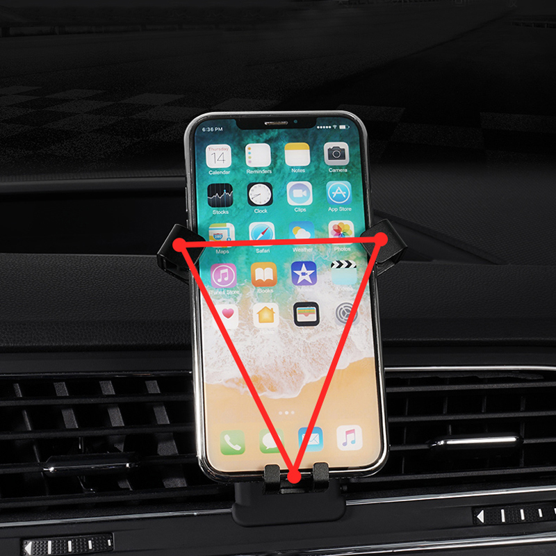 Car Air Vent Mount Phone Holder For Mobile Phone Cradle Smart Phone Stand For VW Volkswagen Golf 7 MK7 2014-2018 Left Hand Drive