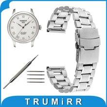 16mm 18mm 20mm 22mm 24mm Montre En Acier Inoxydable Bande pour Tissot T035 T050 PRC 200 T055 T097 T099 Sécurité Fermoir Bracelet Lien Bracelet