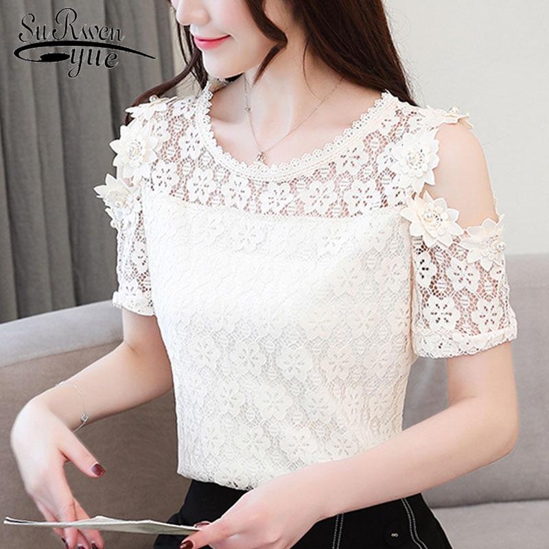 HTB1UfSvbkL0gK0jSZFAq6AA9pXar Ladies tops Fashion Women's Clothing Wild Perspective Small Shawl Chiffon Lace Lacing Boleros shirts tops 802E 30