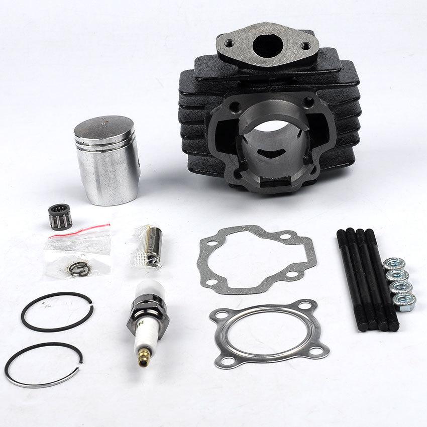 ФОТО NEW Big Bore 50cc Piston Cylinder Rings Kit For Yamah PW50 PW 50 1981- 2009 Motor Engine Free Shipping
