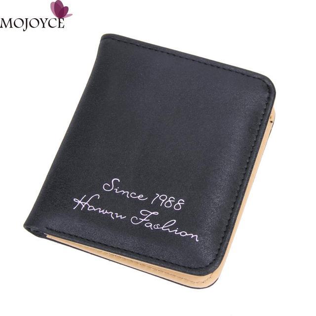 Vintage Women Wallet Nubuck Leather Short Wallets Brand Designed Female Coin Purse Slim Suede Card Holder Purse and Wallet