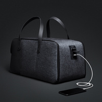 Krion FlexPack | The Best Functional Anti theft Duffle & BackPack Men Travel Bags Fashion Cool Handbag Luggage Bag