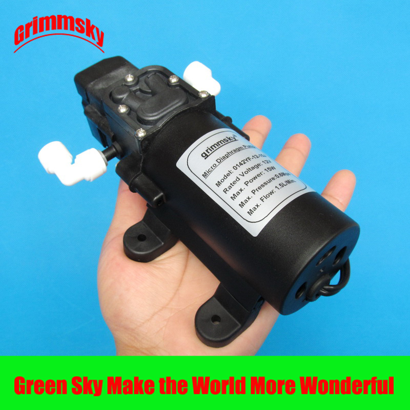 1.5L/Min 15W Very Quiet 12v Booster Pump Osmosis