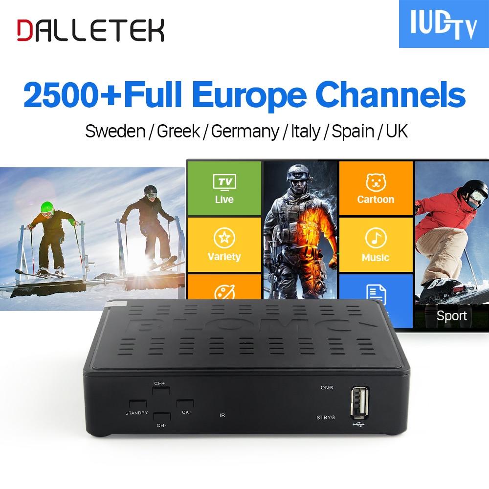 IPTV Swedish Linux TV Box Arabic Italy IPTV Top Box Europe IUDTV IPTV Subscription Turkish Greek Better Than MAG250 IP TV Box