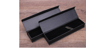 Image 5 - 10pcs/set Korea selling gift box creative school office stationery gift pen box black business pen box