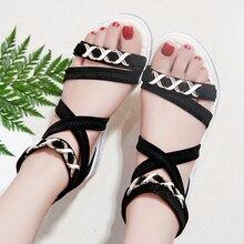 купить Dropshipping 2019 New Women Sandals Platform Spike Women Slippers Flats Flip Flops Shoes Summer Beach Sandals plus size 40 по цене 857.29 рублей