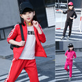 Kids clothing sets Boys Girls clothes Ropa mujer Roupas infantis menina Girls clothing sets Sports set Jacket and pants suits