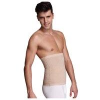 Mens Slimming Lift Body Shaper Tummy Belt Underwear Waist Support Complexion L