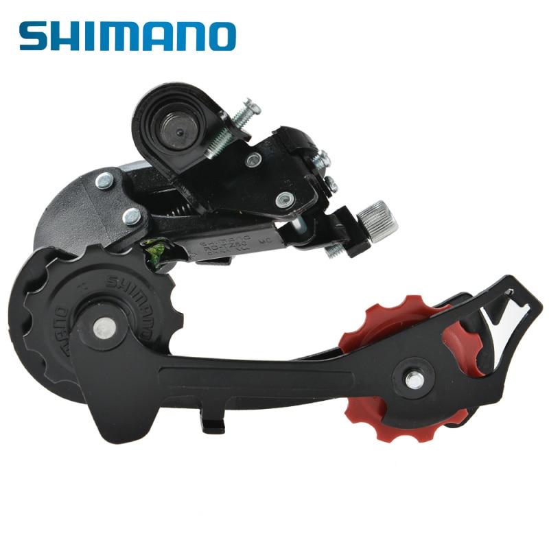 Цена за SHIMANO Турнир RD TZ50 6/7   скоростей непосредственного монтажа горный велосипед Запчасти для велосипеда велосипеде задний переключатель MegaRange SIS переключения