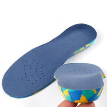 Детей ЕВА ортопедические стельки для обуви детей плоскостопие арка поддержка ортопедические Колодки Коррекция ноги здравоохранения TH0195