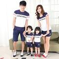 2017 соответствия мать дочь одежда Корейских любителей моды детские Футболки семья посмотрите детей tee футболка топы