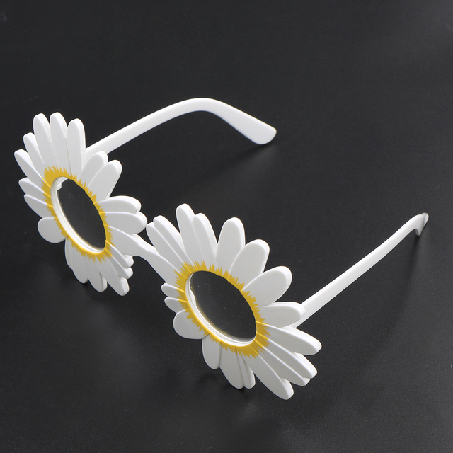 Hot sale funny daisy flower glasses decoration women wedding photo hot sale funny daisy flower glasses decoration women wedding photo booth props accessories night events party junglespirit Images