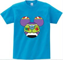 girls baby clothes for summer Woody Buzz Toy Story T-Shirt Cartoon Full Printed Tee Shirts t shirt