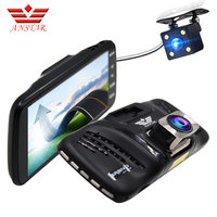 ANSTAR 4 Inch Car Dvr Full HD 1080P Dual Lens Camera dash cam Auto Camcorder Video Recorder Parking Assistance For Cars Camera