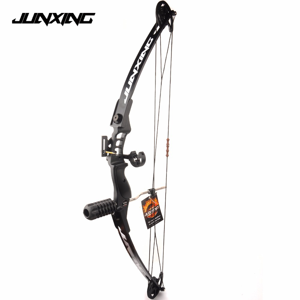 1pc Black 30-40 LBS M183 Adjustable Compound Bow Set for Right Hand Outdoor Archery Hunting Shooting Fishing archery hunting 30 40 lbs compound bow right hand adjustable bow set for shooting fishing target outdoor practice