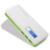 Novo display lcd portátil power bank 12000 mah 3 usb bateria de backup externo powerbank para iphone móvel carregador universal