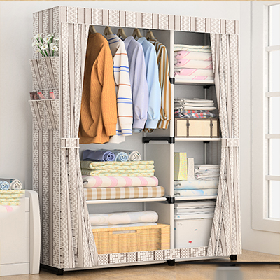 Storage Furniture DIY Non-woven Fold PortableWhen The Quarter Wardrobe Cabinet Bedroom Furniture Wardrobe Bedroom Organ