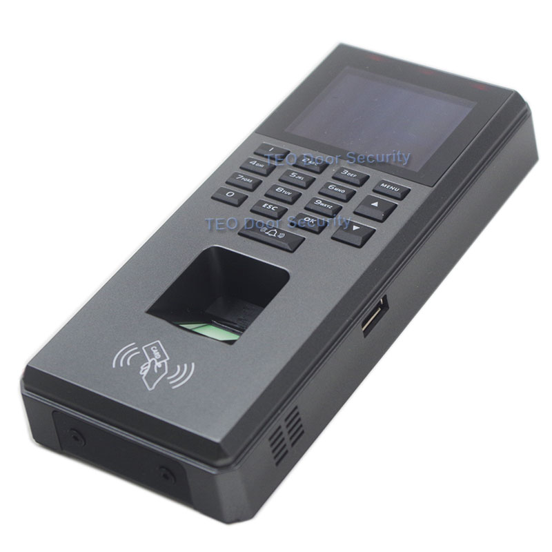 3200Users Fingerprint Keypad Access Control RFID Biometric Fingerprint Reader with Color Screen Entry FingerBiometric Scanner