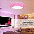 Linha de alumínio LED luz de teto 15 24 W Dia35CM acrílico de retro cozinha moderna sala quarto abajur frete grátis