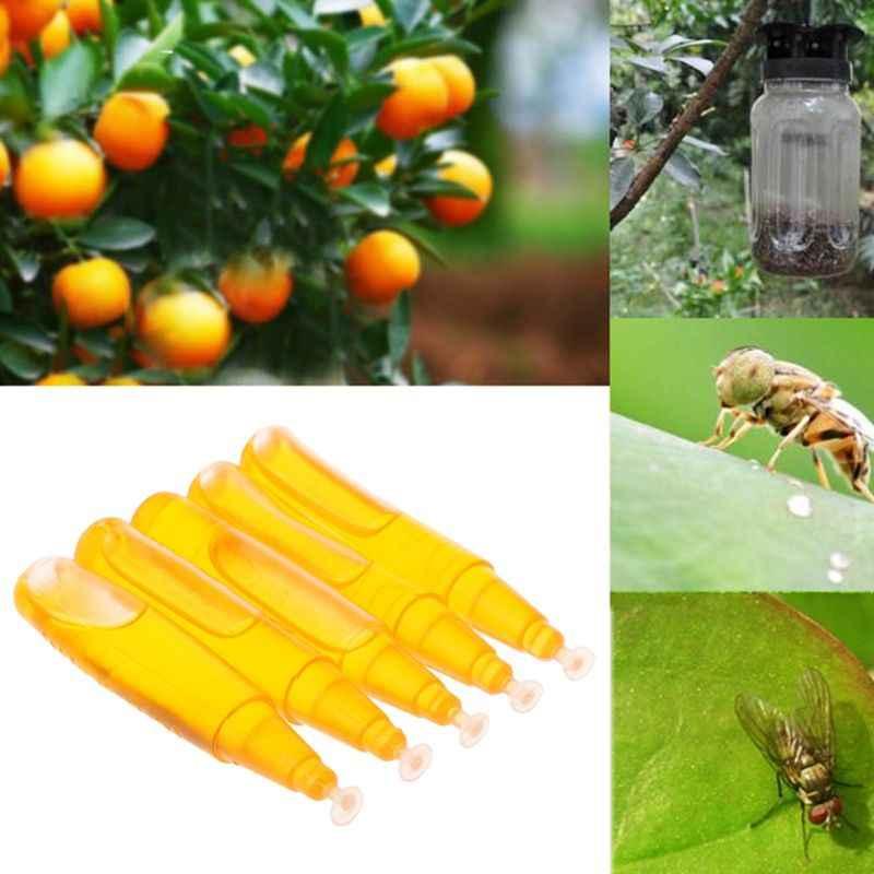 2019 3ml mouche de fruits attractif médecine appât piège Bug tueur antiparasitaire Insecticide jardin fruits ferme accessoire fournitures de jardin